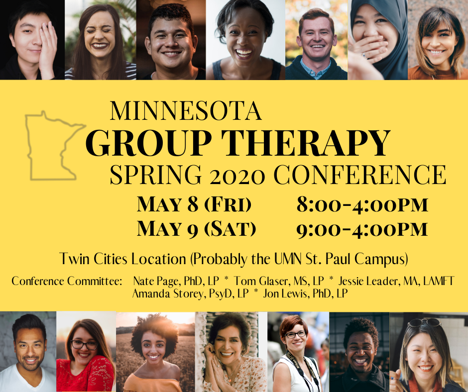 Minnesota Group Therapy Spring 2020 Conference