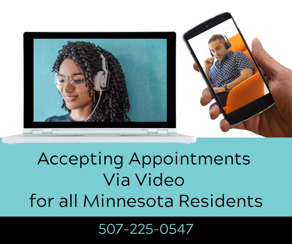 Online Individual, Couples and Group Therapy in Northfield Minnesota